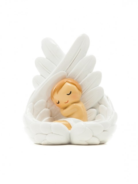 Baby Angel Sleeping in Wings