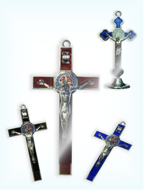 Metal Crucifixes